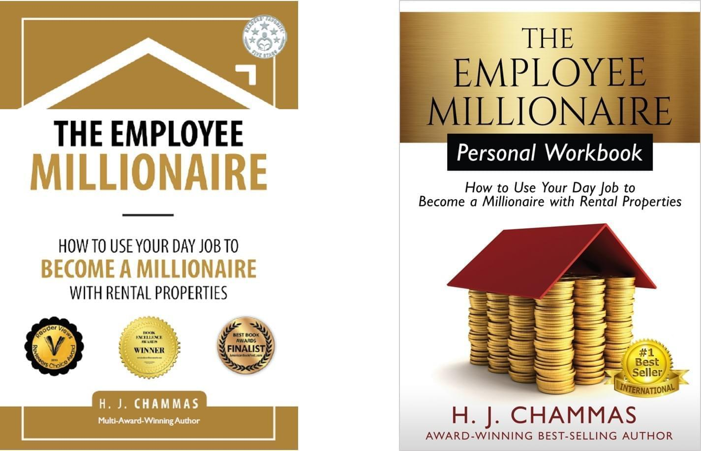 Award Winning Book, Real Estate Investing Book, Rental Properties Book, The Employee Millionaire, HJ Chammas